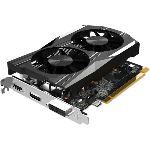 ZOTAC GeForce GTX 1050 Ti OC Edition Graphics Card