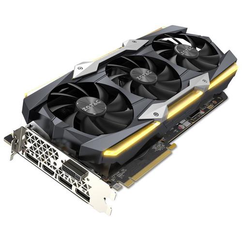 ZOTAC GeForce GTX 1080 Ti AMP Extreme Core Edition Graphics Card