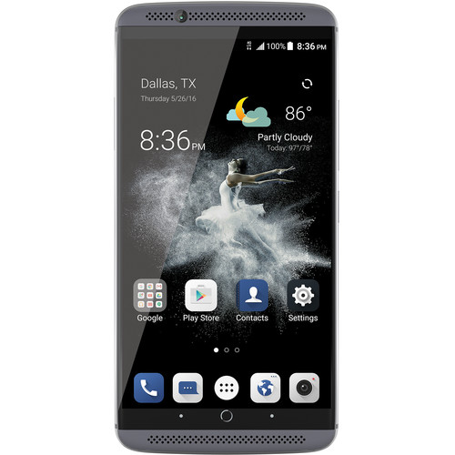 ZTE Axon 7 64GB Smartphone (Unlocked, Quartz Gray)