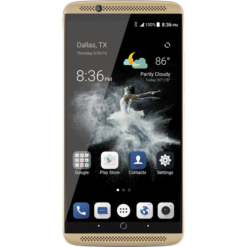 ZTE Axon 7 64GB Smartphone (Unlocked, Ion Gold)