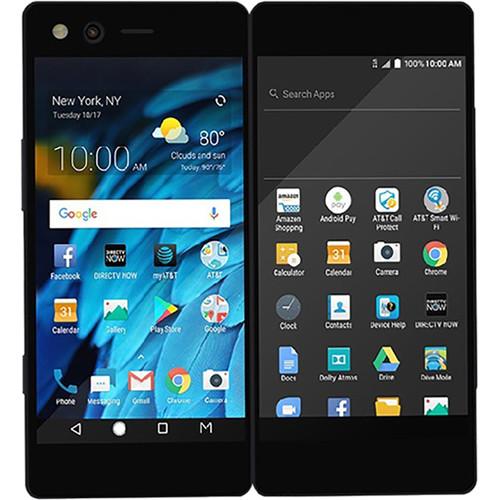 ZTE Axon M Z999 64GB AT&T Branded Smartphone (Unlocked, Carbon Black)