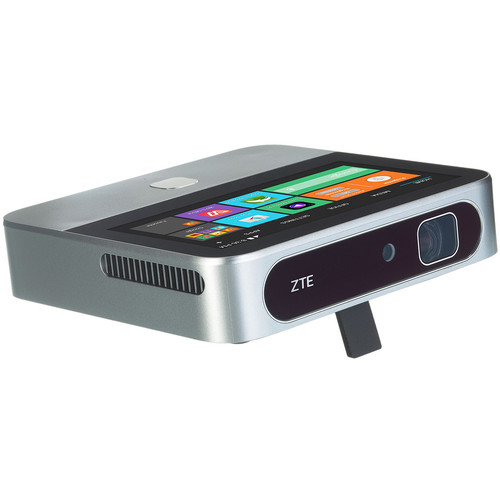 ZTE Spro 2V 200-Lumen Smart HD Pico Projector with Wi-Fiand Verizon 4G LTE Connectivity
