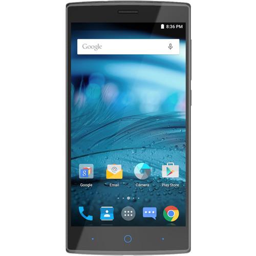 Zte Zmax 2 16gb Smartphone Unlocked Titanium Z2g111 B Amp H