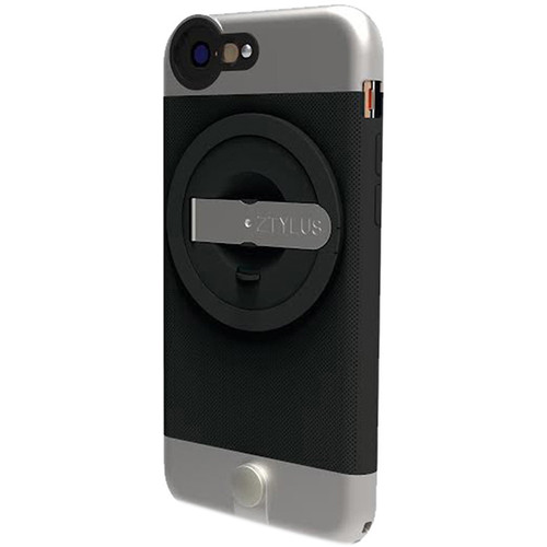 Ztylus Zip-6L Case for iPhone 6 (Black) with Revolver 4-in-1 Lens