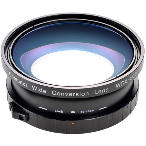 Zunow Compact Wide 0.8x Conversion Lens for Cameras with Sony EX Bayonet Mount