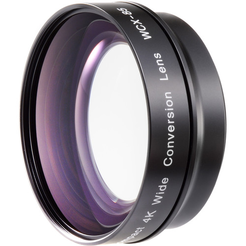 Zunow WCX-85 Compact 4K Wide Conversion Lens + R62+R58
