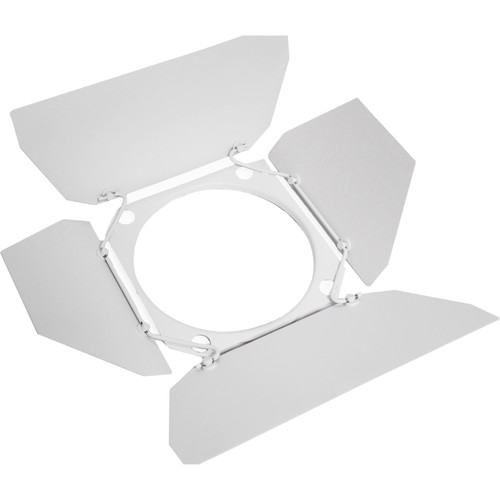 Zylight Replacement 4-Leaf Barndoor (White)