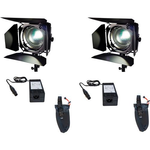 Zylight F8-T LED Fresnel Tungsten Dual Head Kit