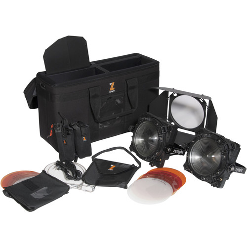 Zylight F8-D 100 LED Fresnel Dual Head ENG Kit with V-Mount