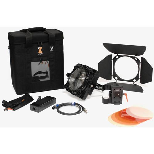 Zylight F8-200 Daylight LED Fresnel Single Head ENG Kit with V-Mount Battery Plate