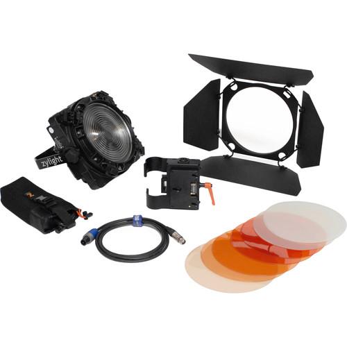 Zylight F8-200 Daylight LED Fresnel Single Head ENG Kit with Gold Mount Battery Plate (No Case)
