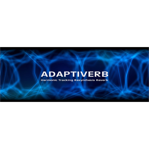 Zynaptiq ADAPTIVERB - Harmonic Tracking Resynthesis Reverb (Educational, Download)