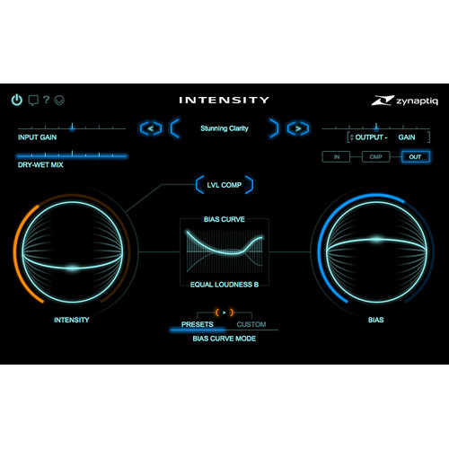 Zynaptiq INTENSITY - Loudness & Density Software for Pro Audio & Sound Design (Download)