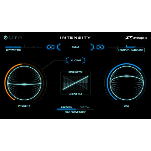 Zynaptiq Intensity - Loudness & Density Processor for Pro Audio & Sound Design (Software, Download)
