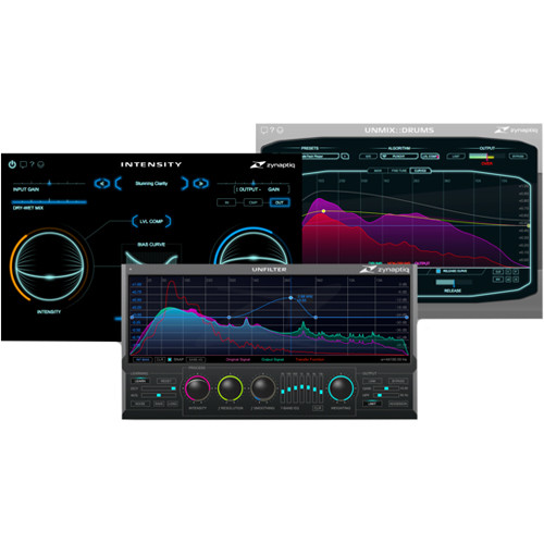 Zynaptiq MASTER Bundle - Specialized Dynamic & Tonal Software for Mastering (Download)