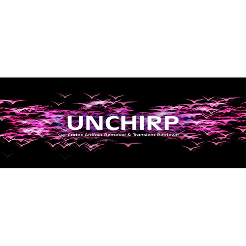 Zynaptiq UNCHIRP Codec Artifact Removal & Transient Retrieval Plug-In (Educational, Download)