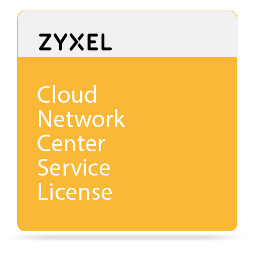 ZyXEL Cloud Network Center Service License for 50 Devices