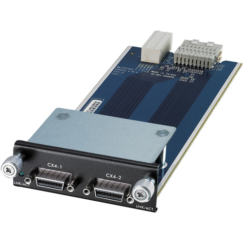 ZyXEL Dual Port CX4 10GbE Module for XGS4700 Series Switch