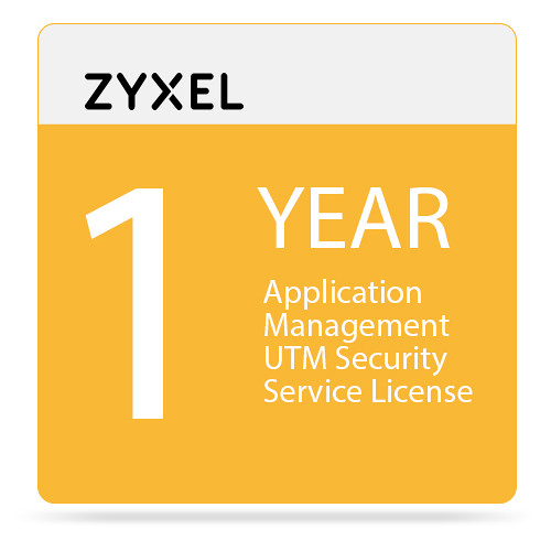ZyXEL 1-Year Application Management UTM Security Service License for UAG5100 Unified Access Gateway