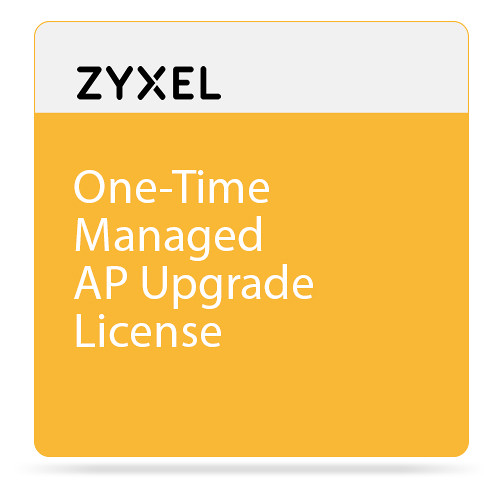 ZyXEL One-Time Managed AP Upgrade License for UAG2100 Unified Access Gateway (Up to 4 AP Support)