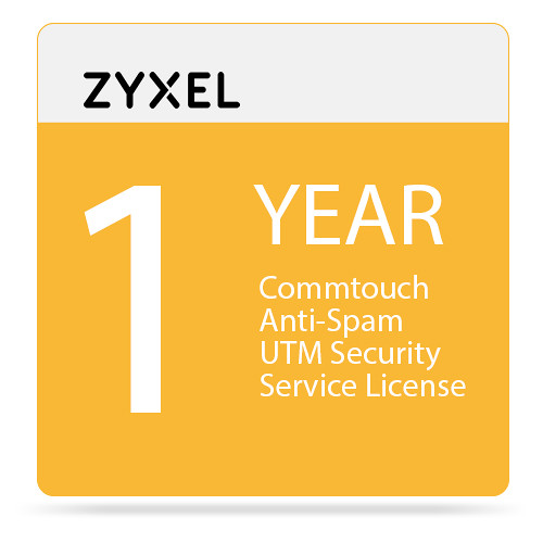 ZyXEL 1-Year Commtouch Anti-Spam UTM Security Service License for USG100-Plus Unified Security Gateway