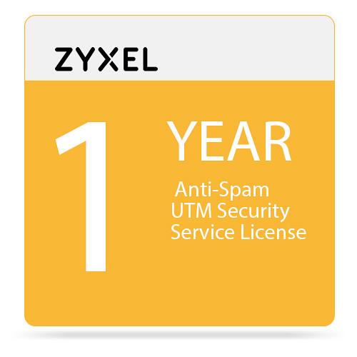 ZyXEL 1-Year Anti-Spam UTM Security Service License for USG20-VPN/USG20W-VPN Firewall