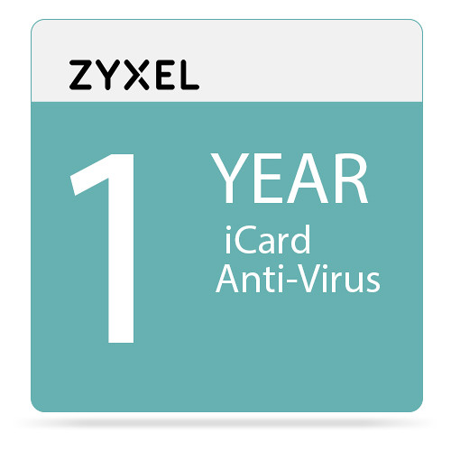 ZyXEL 1-Year Kaspersky Antivirus iCard for USG210 Unified Security Gateway