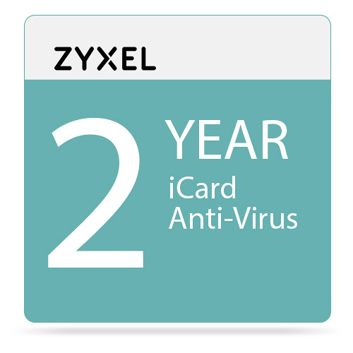 ZyXEL 2-Year Kaspersky Anti-Virus iCard for USG210 Unified Security Gateway