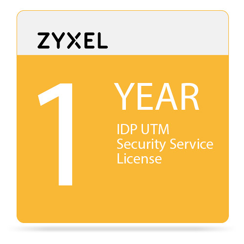 ZyXEL 1-Year IDP UTM Security Service License for USG50 Unified Security Gateway