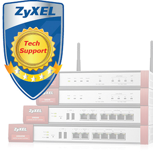 ZyXEL 1-Year Tech Support Contract for USG310 (Class D)