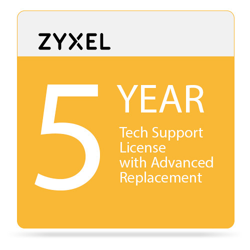 ZyXEL 5-Year Tech Support Contract for USG1100 / 1900 & ZyWALL 1100 (Class E)