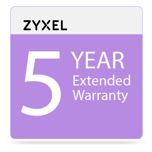 ZyXEL 5-Year Extended Warranty Service Contract for USG60 / -NB / USG60W / -NB / USG/ZyWALL 110 (Class B)