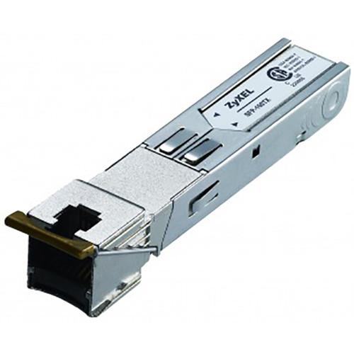 ZyXEL 100BaseT SFP Ethernet Transceiver Module (RJ-45 Connector, Up to 330')