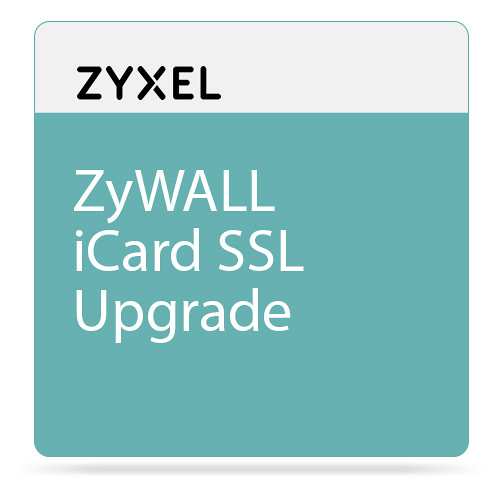 ZyXEL ZyWALL iCard SSL Upgrade to 2-25 Users for USG100-Plus Unified Security Gateway