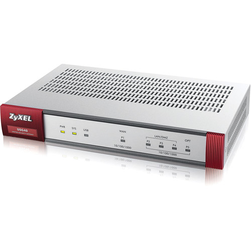 ZyXEL Home Edition Advanced Security Firewall