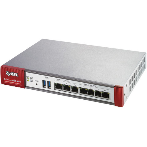 ZyXEL USG100 Unified Security Gateway Firewall with 7 Gigabit Ports