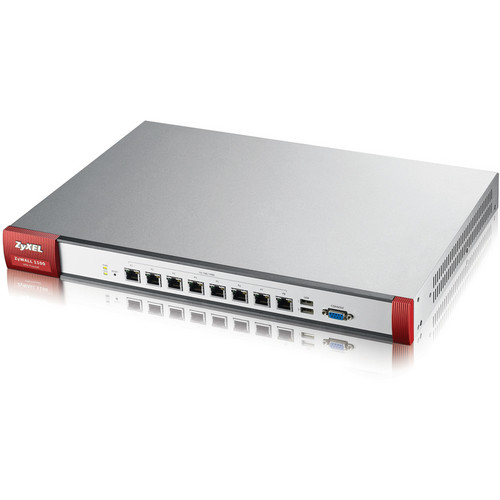 ZyXEL ZyWALL1100 3.6 GbE SPI/800 Mb/s VPN Firewall with 8 GbE Ports