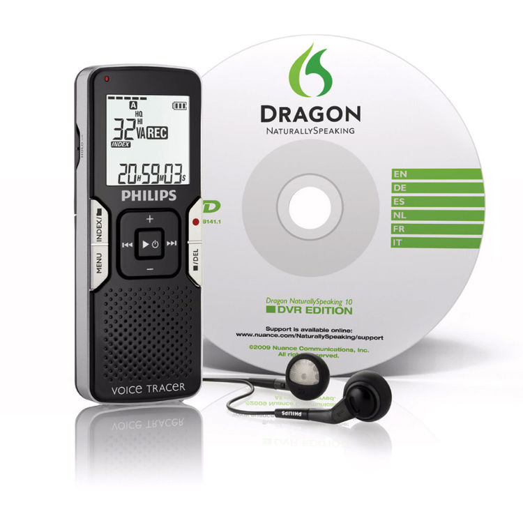 Philips LFH0667 Voice Tracer Digital Recorder: Speech Recognition Edition