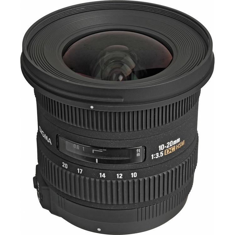 Sigma 10-20mm f/3 5 EX DC HSM Lens for Nikon F