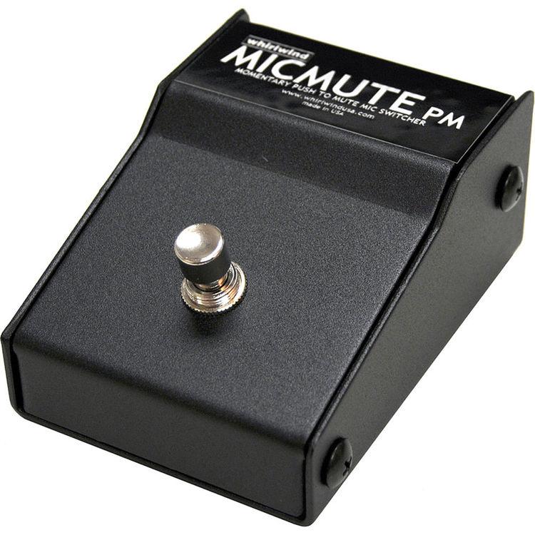Whirlwind Micmute PM Push-to-Mute Switch (Pedal)