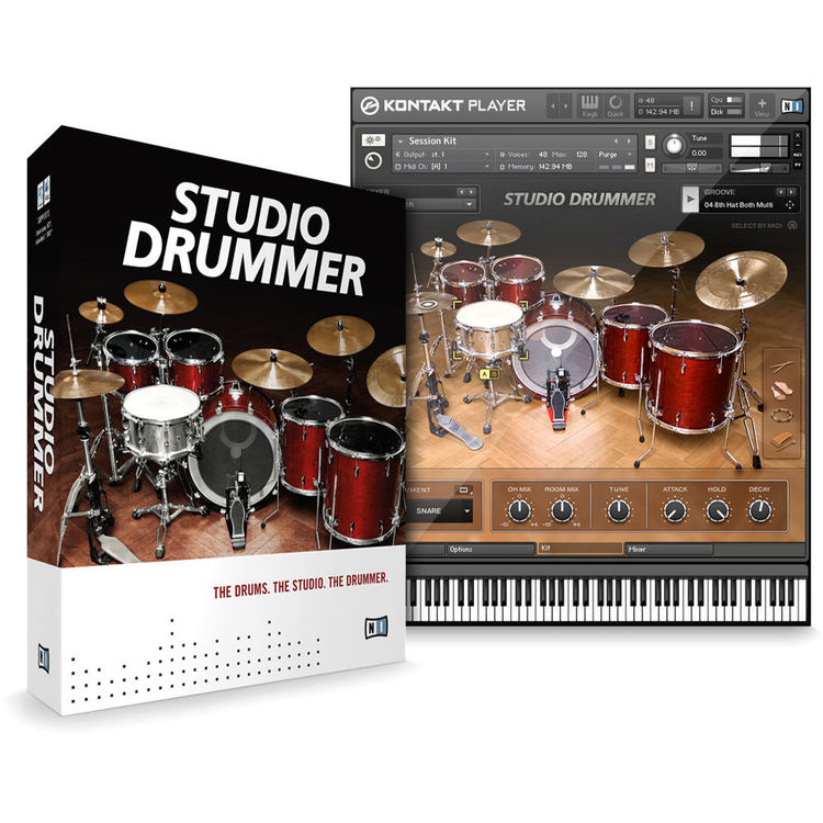 Native Instruments STUDIO DRUMMER - Virtual Drum Instrument