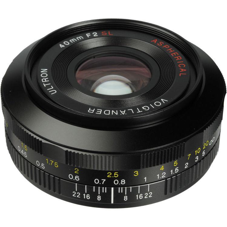 Voigtlander 40mm f/2 0 Ultron SL II Aspherical Lens for Canon
