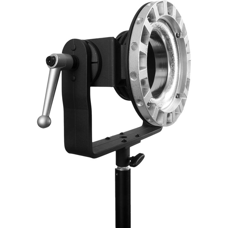 Mounting Large Heavy Light Modifier To The Stand Rather Than The
