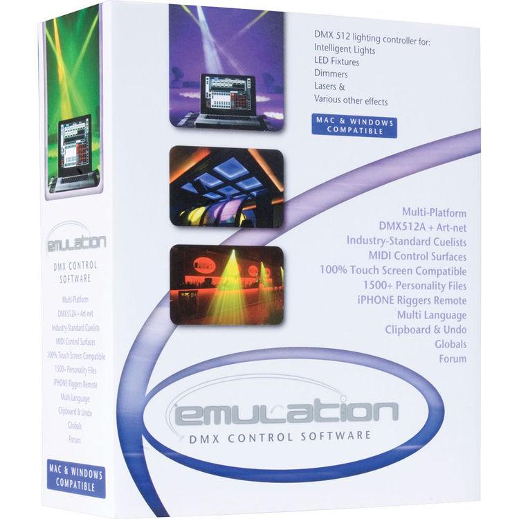 Elation Professional EmuLATION DMX Control Software