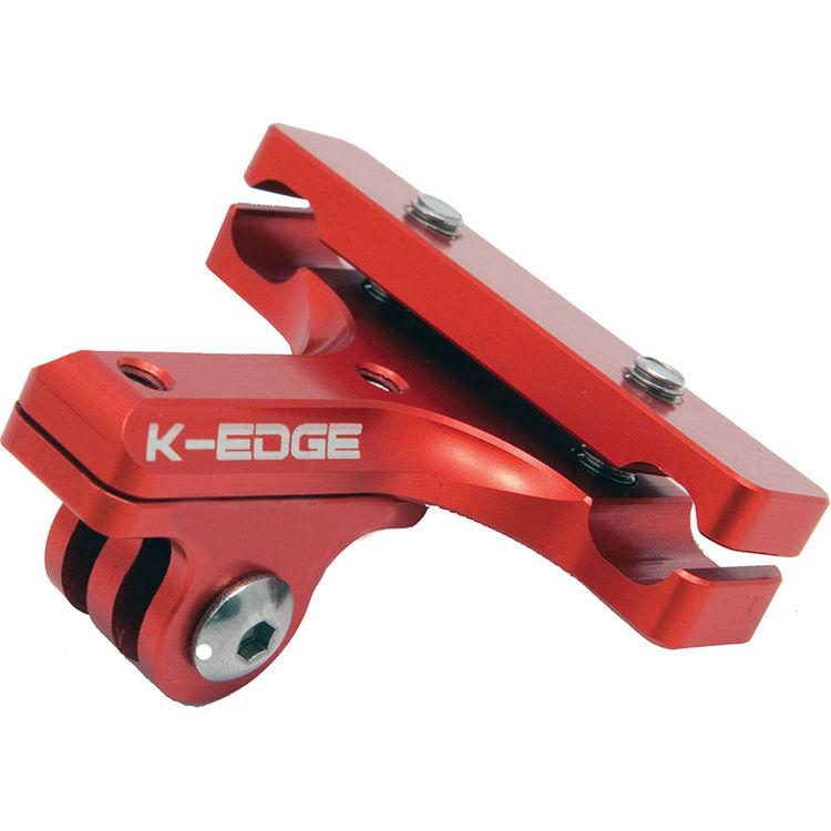 K-EDGE GO BIG Pro Selle Rail Camera Mount Gopro Garmin Shimano BLK