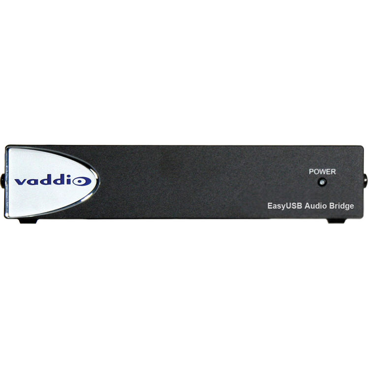 Vaddio EasyUSB Audio Bridge System 18v Power Input 998-8536-000