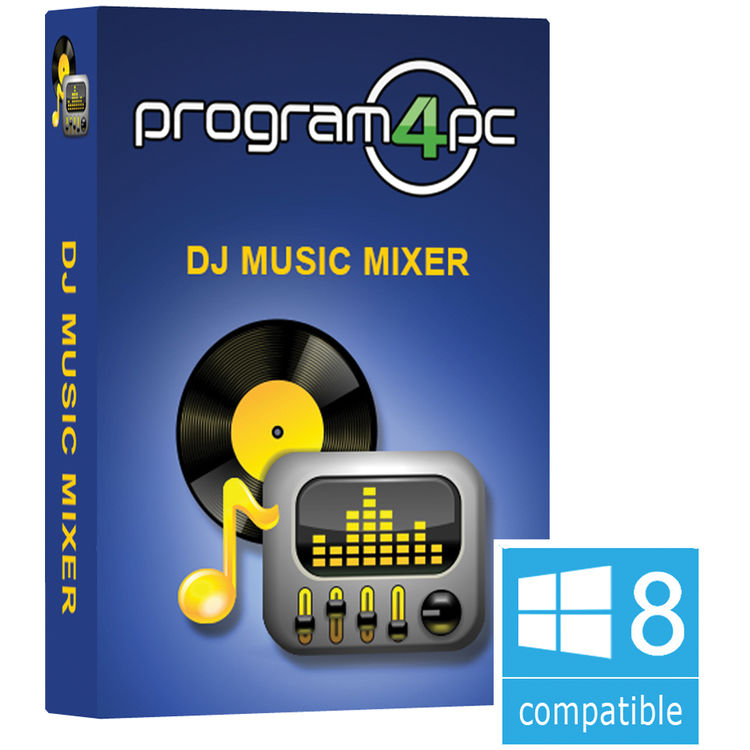 Program4Pc DJ Music Mixer Software (Download)