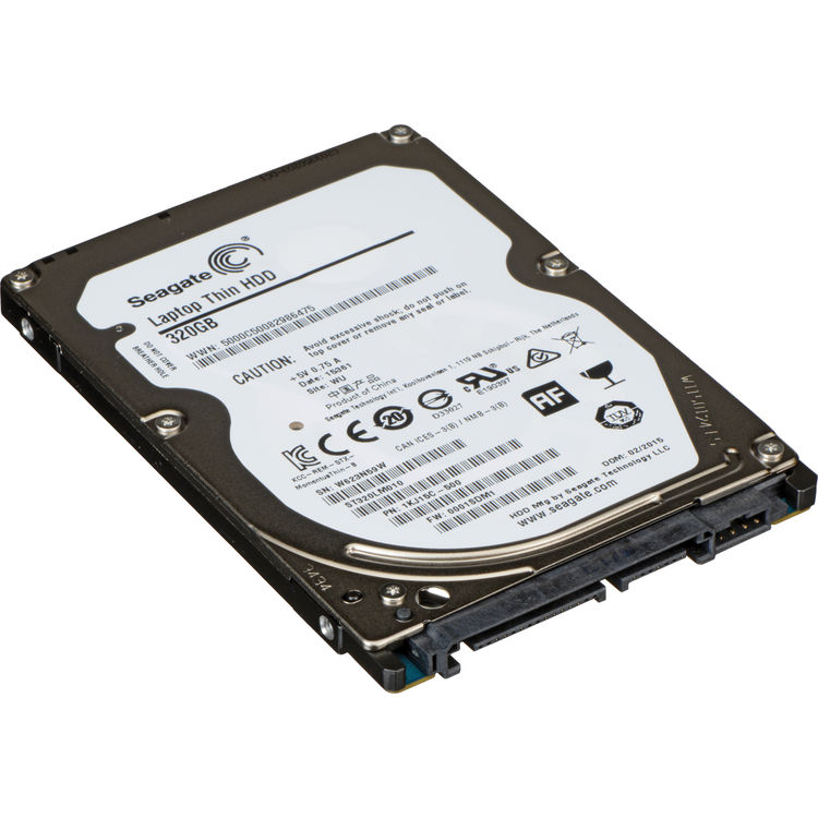 Seagate 320GB Laptop Thin Internal Hard Disk Drive (OEM)