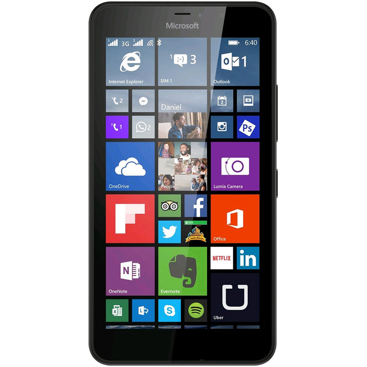 Microsoft Lumia 640 RM-1077 8GB Dual SIM Smartphone (Unlocked, Orange)