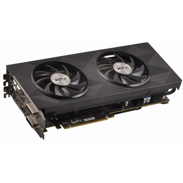 XFX Force AMD Radeon R9 390 8GB Double Dissipation Graphics Card Core  Edition
